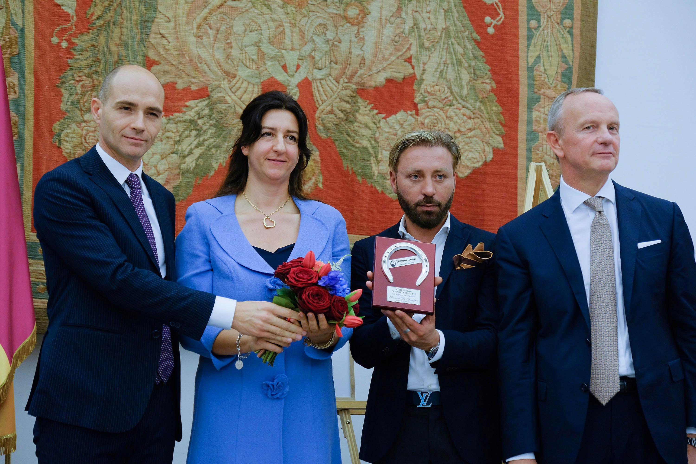 eleonora di giusetppe longines global tour champions coordinatrice campidoglio premio frongia