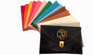 Half Off Custom Monogrammed Clutch Purse