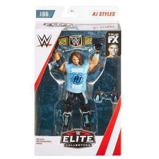 Image of WWE Wrestling Elite Series 66 - AJ Styles Action Figure