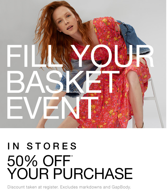FILL YOUR BASKET EVENT