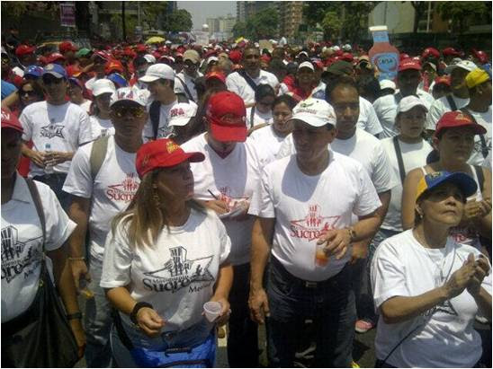 Movimiento Sucre en marcha antiimperialista