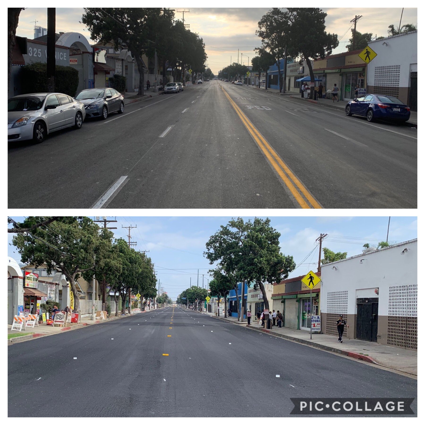 Venice Blvd. Resurfaced in Pico Union