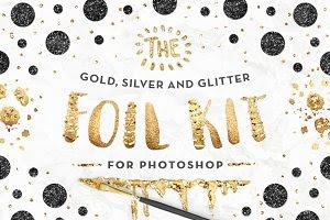 The Gold Foil Kit Essentials+Bonus!
