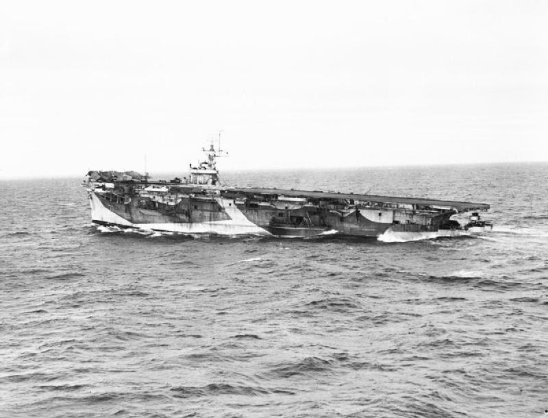 The near-sinking of HMS Nabob