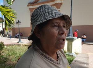 La defensora de derechos humanos Hermiliana Domínguez