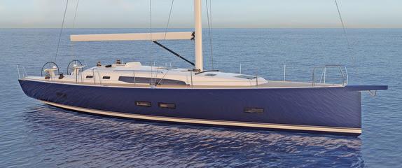 J/45 offshore cruising yacht