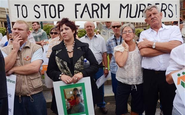 Genocidio y racismo antiblanco en África del Sur: ¡un campesino blanco, una bala!