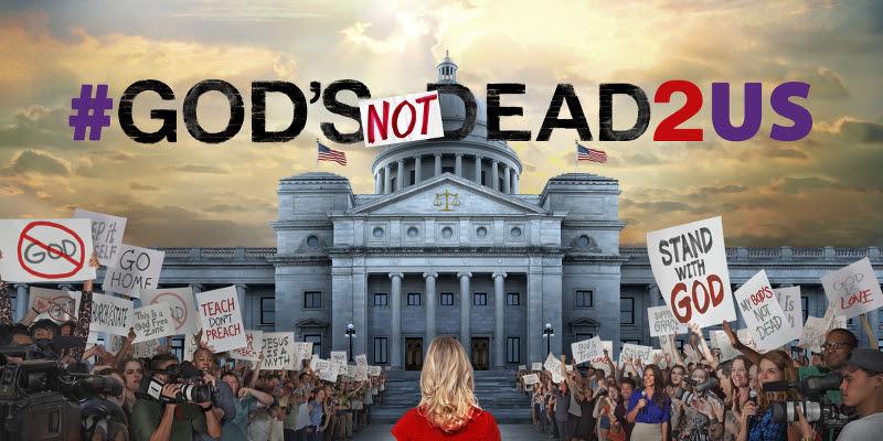 #GodsNotDead2Us