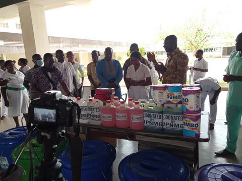 UPNMG's donation to the Tamale Teaching Hospital