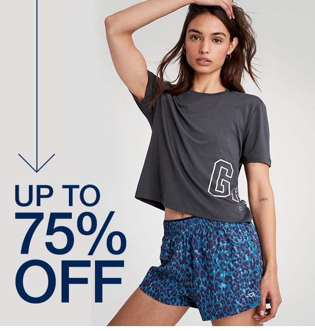 GAP : Clearance Sale Up to 85% off