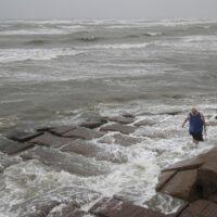 Hurricane Nicholas slams into Texas