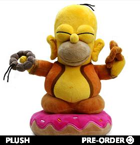 The Simpsons Homer Buddha Plush