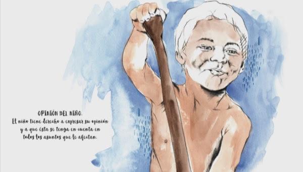 «A infancia somos nós. Ilustracións polos dereitos dos nenos e da nenas»