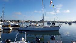 J/44 sailing Transpac Race