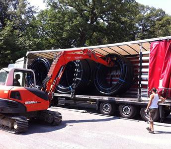 Tubazioni CASAFLEX© per il nuovo impianto di teleriscaldamento
