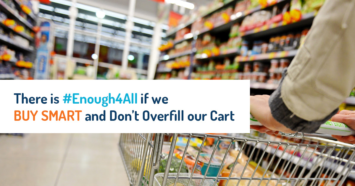 Don't overfill your cart