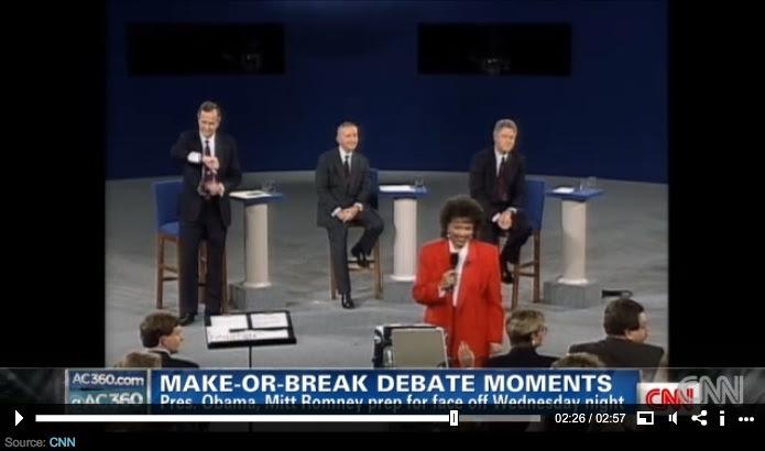 Debate blunders