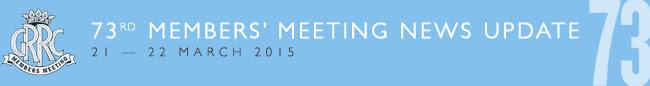 73rd Members' Meeting News Flash