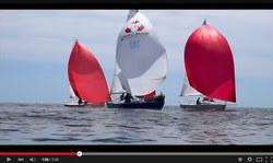 J24 and J80 sailing GP Crouesty, France