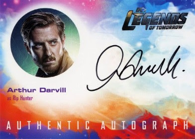 DC's Legends of Tomorrow Trading Cards Seasons 1 & 2 - Autograph Card - Darvill