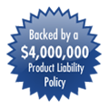 backed by product liability policy
