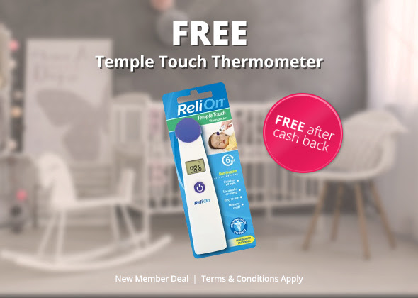 FREE Temple Touch Thermometer.