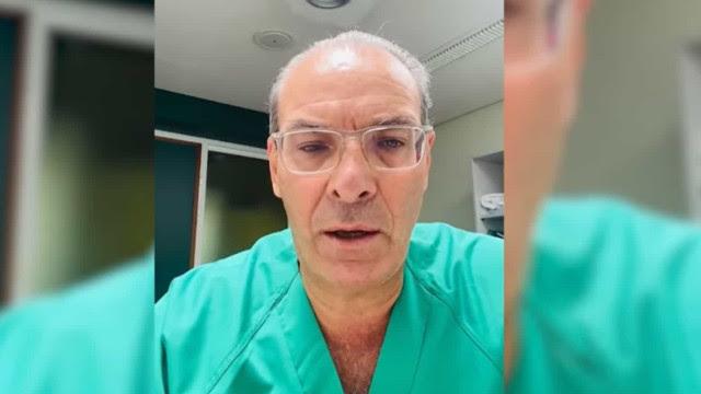 Médico espanhol grava vídeo a pedido de paciente que intubou horas antes