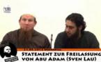 L'influence des cyber-prédicateurs, à l'image du salafiste Pierre Vogel (ici à gauche) serait limitée. LDD