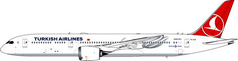 Boeing 787-9 Turkish Airlines TC-LLB | is due: October 2019