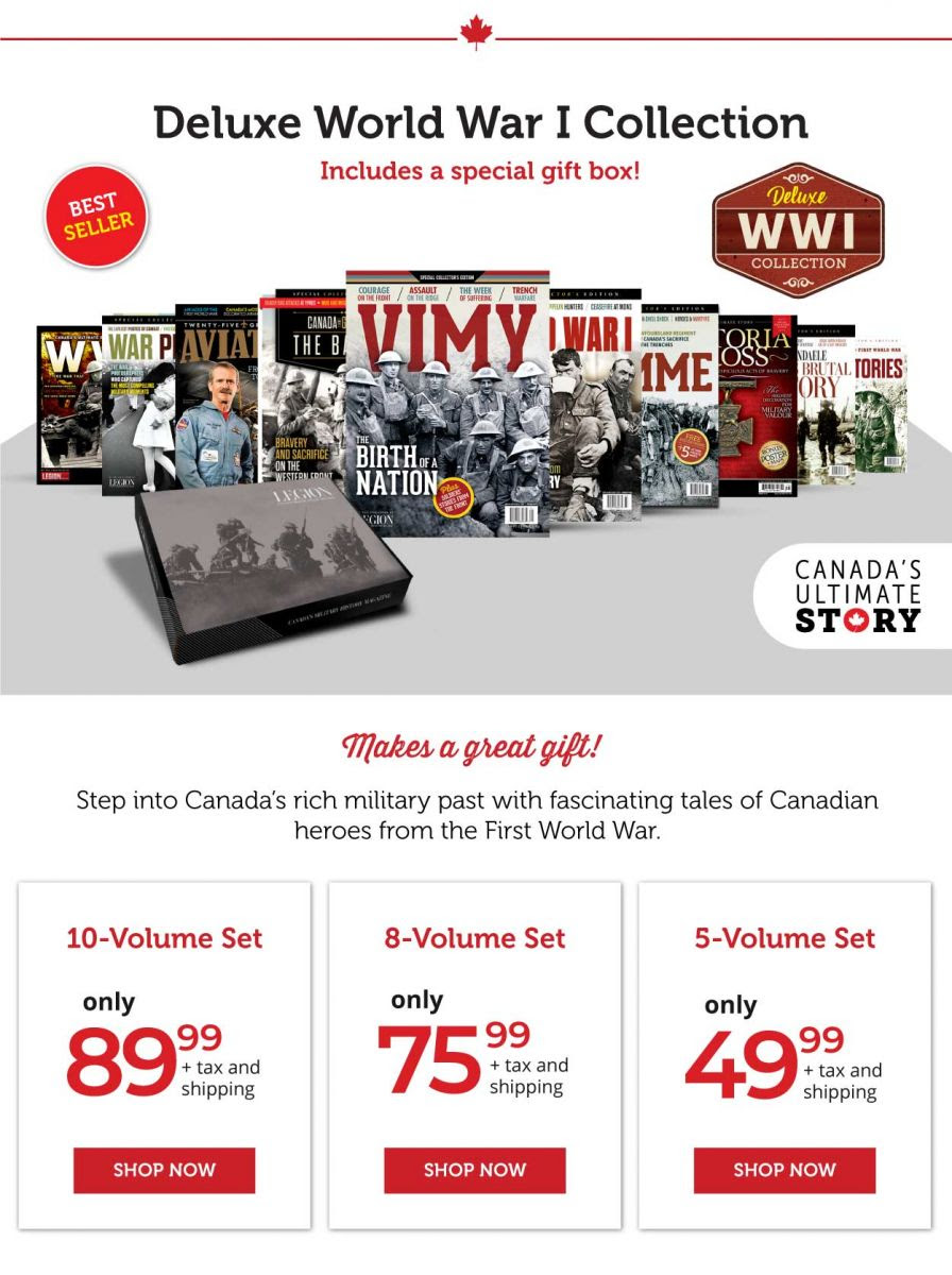 Deluxe WW I Collection Gift Pack