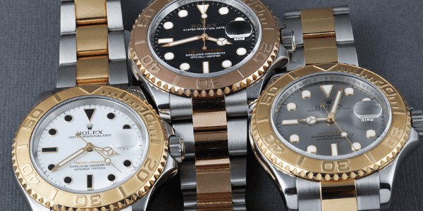 Yachtmaster Gold
