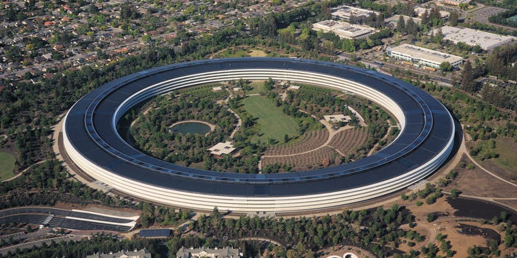 Apple work from home, Apple park or spaceship