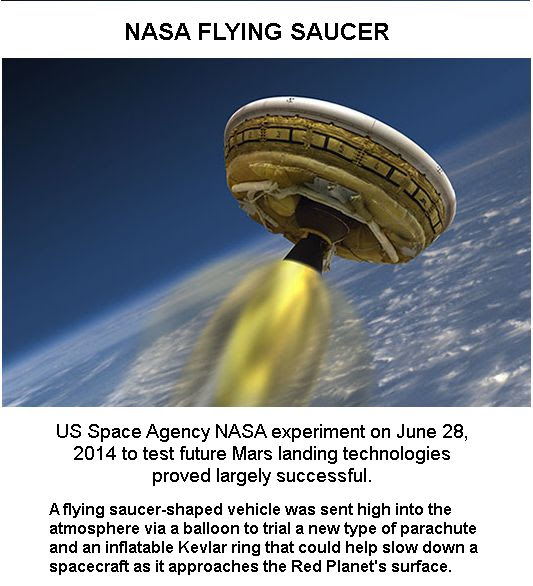 NASA Flying Saucer -1