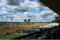 Racing without fans during the Keeneland fall meet