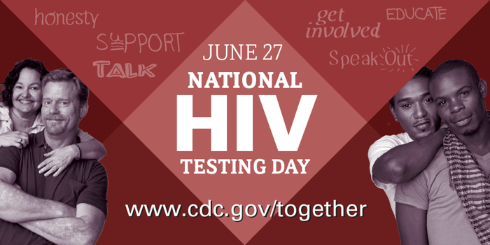 June 27 National HIV Testng Day