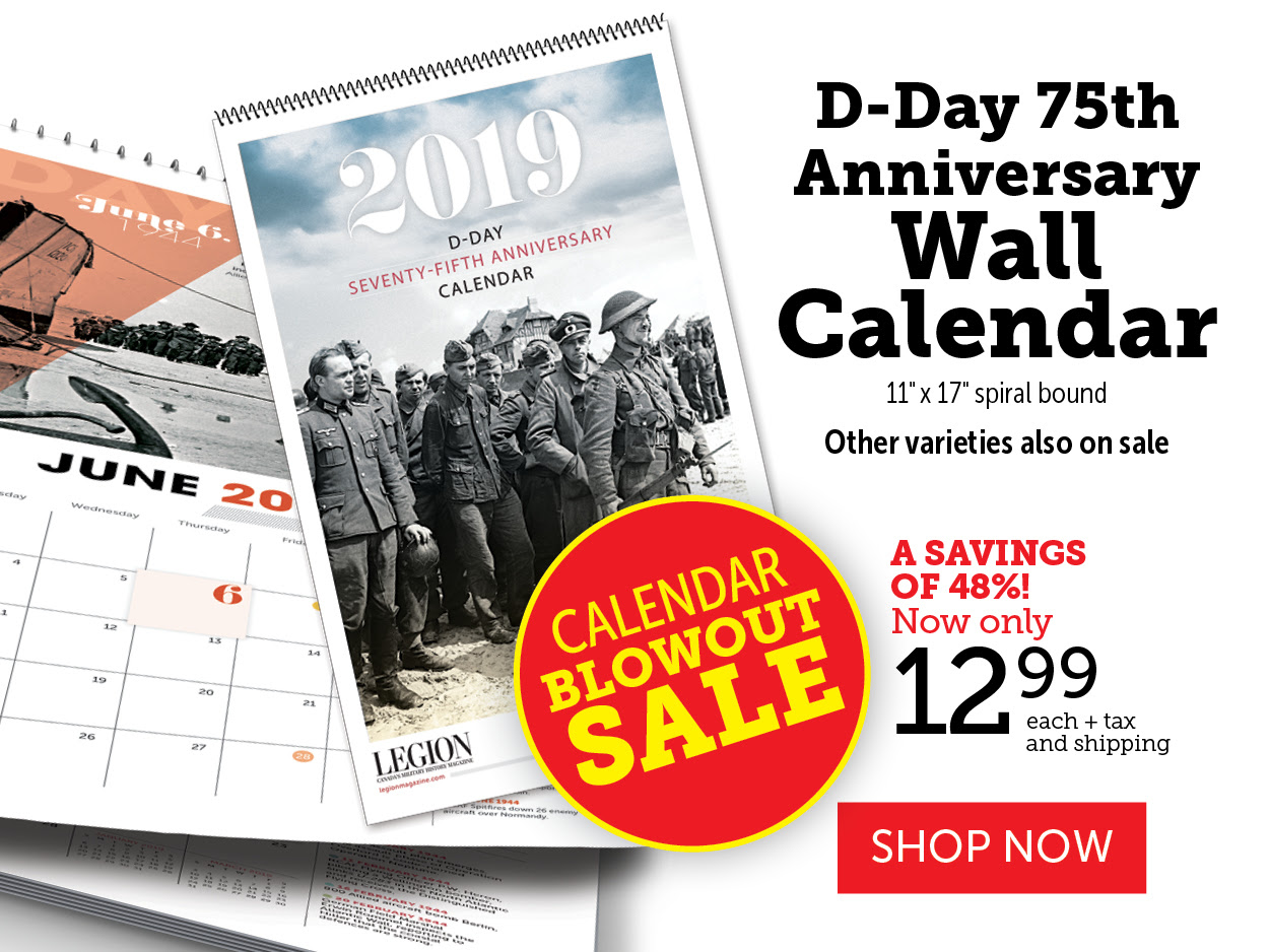 D-Day 75th Anniversary Wall Calendar