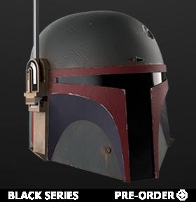 Star Wars: The Black Series Boba Fett (The Mandalorian) 1:1 Scale Wearable Helmet (Electronic)