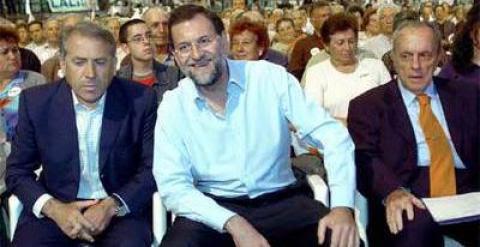 Cuiña, Rajoy, Fraga Efe