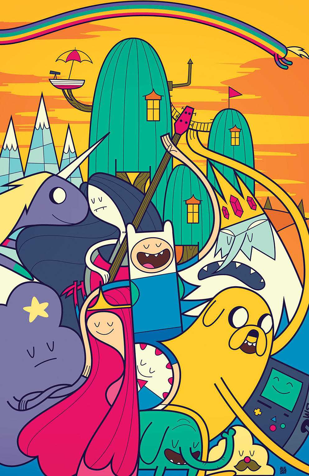 Adventure Time #36 Cover B