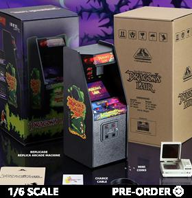 Dragon's Lair RepliCade 1/6 Scale Mini Arcade Cabinet