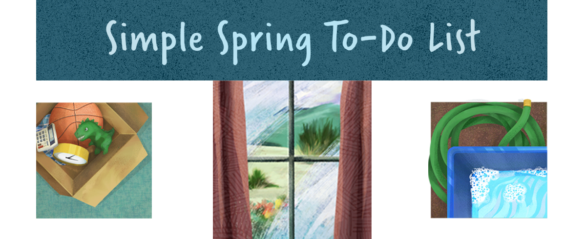 Simple Spring To-Do List Header