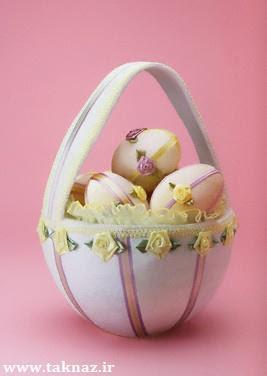 طرز تهیه تخم مرغ رنگی شب عید + تصاویر