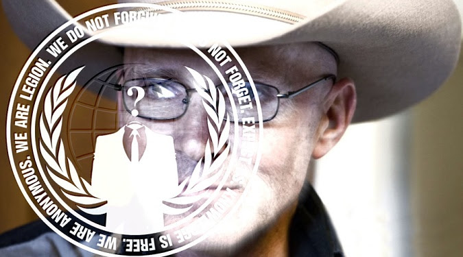'ANONYMOUS' Calls For Justice In Murder Of LaVoy Finicum, Issues THIS Chilling Message To FBI (Videos)