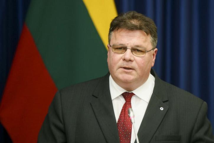 Литва встревожена перспективой ослабления антироссийских санкций