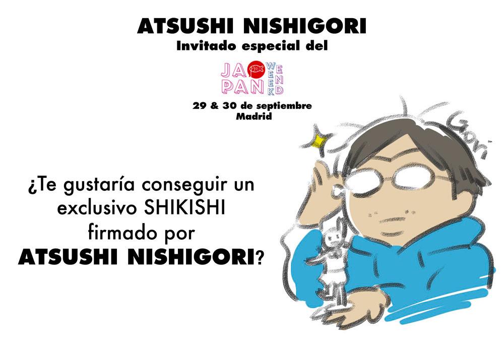 Atsushi Nishigori invitado especial del Japan Weekend Madrid 2018.