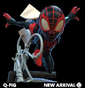 Marvel Q-Fig Elite Spider-Man: Miles Morales Diorama