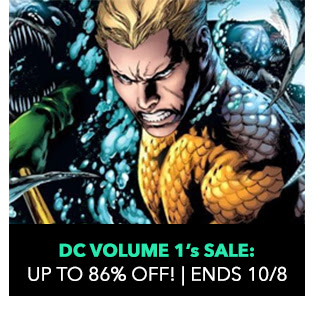 DC Volume 1s Sale: up to 86% off! Sale ends 10/8.