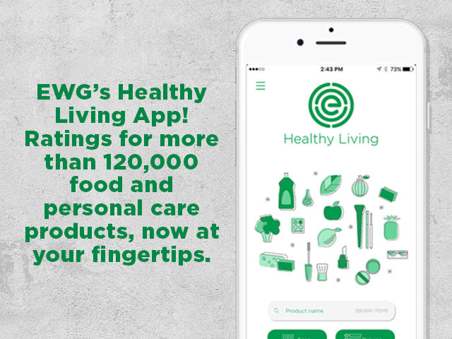 Get EWG's Healthy Living App