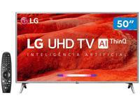 """Smart TV 4K LED 50"""" LG 50UM7500 Wi-Fi"""