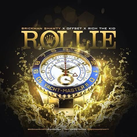 Brickman Shawty Ft Rich The Kid Offset - Rollie artwork